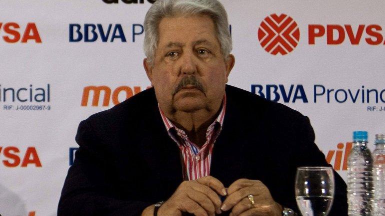 Rafael Esquivel, ex presidente del fútbol venezolano, tiene 30 días para apelar su extradición