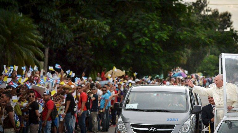 El papa Francisco dará hoy una misa multitudinaria en la Plaza de la Revolución