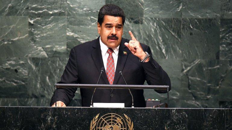 Nicolás Maduro ante la Asamblea General de Naciones Unidas